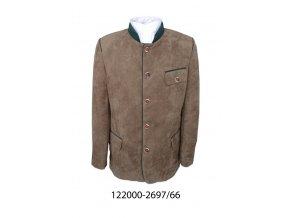 Pánska bunda - 122000-2697-66- hnedá