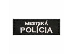 Nášivka MESTSKÁ POLÍCIA 9x3cm so sz