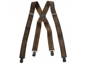 Deerhunter Braces with Clips - traky na klip, 130 cm