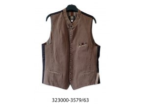 Pánska vesta -323000-3579-63 (hnedá)