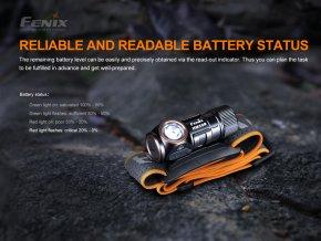 Nabíjacia čelovka Fenix HM50R