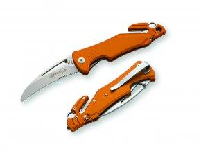Záchranársky nôž SOS - RESCUE ARA XL AR/S - oranžová farba