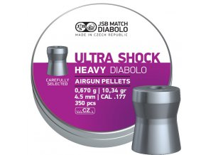 JSB Ultra Shock Heavy 4,52mm - bal. 350ks