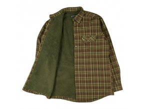 deerhunter milo shirt with pile lining zateplena kosela 1