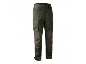 deerhunter rogaland stretch trousers green nohavice