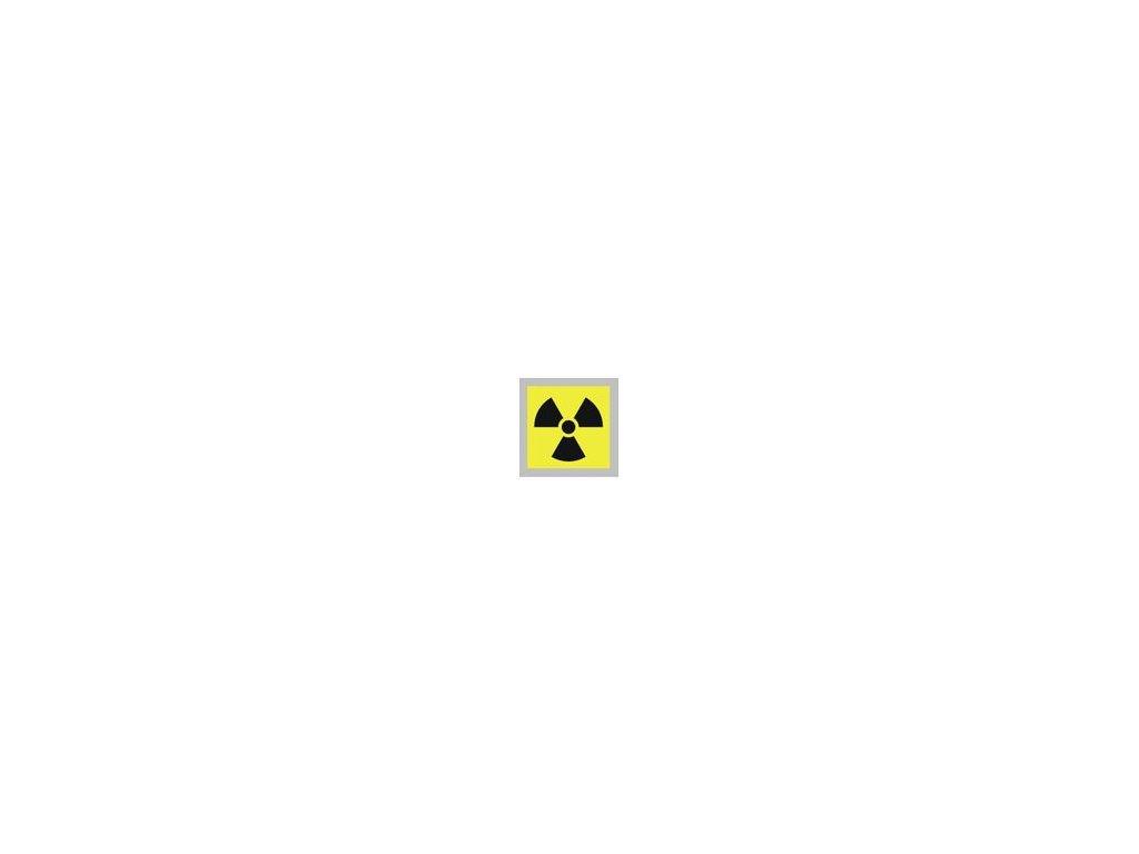 radiace piktogram