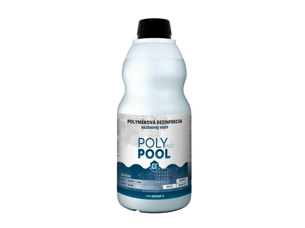 Bezchlórová dezinfekcia bazénovej vody POLY H2O POOL 1L - POLYMPT.SK