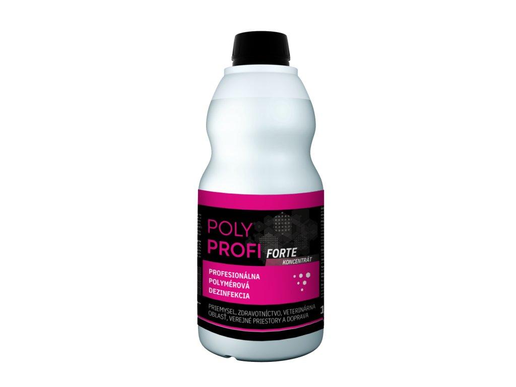 Profesionálna polymérová dezinfekcia POLY PROFI forte 1L - POLYMPT.SK