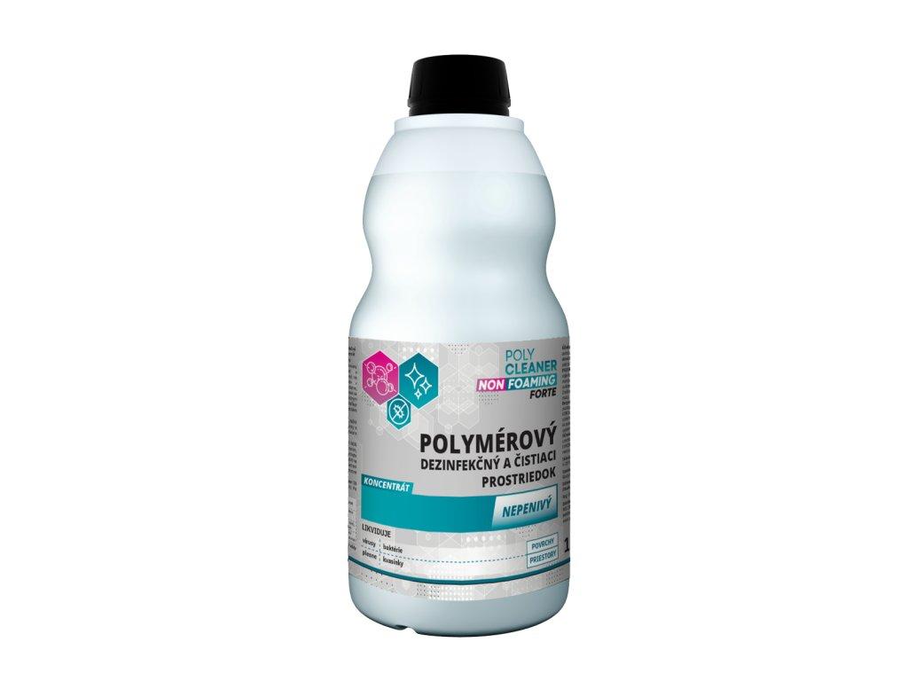 Nepenivý čistiaci a dezinfekčný prostriedok na podlahy POLY CLEANER NON FOAMING forte 1 L - POLYMPT.SK