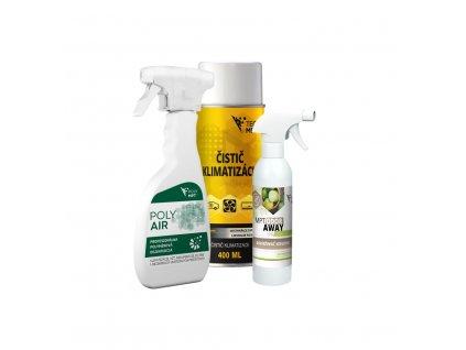Cenovo výhodná sada určená načistenie a dezinfekciuklimatizácie LIME
