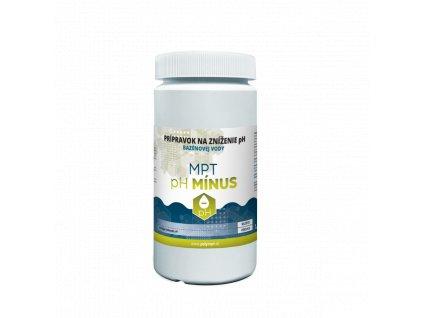 Prípravok na zníženie pH bazénovej vody MPT pH MINUS 1,6 kg - POLYMPT.SK