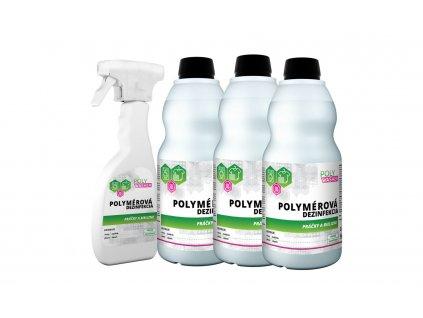 Stredná sada dezinfekcie práčky a bielizne - POLYMPT.SK
