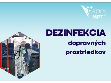Dezinfekcia dopravných prostriedkov - POLYMPT