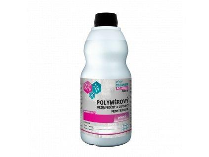 Penivý čistiaci a dezinfekčný prostriedok 2v1 na podlahy POLY CLEANER FOAMING forte 1 L - POLYMPT.SK