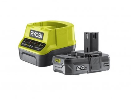 Sada akumulátora s nabíjačkou (1x 2.0 Ah) RC18120-120 18V - POLYMPT