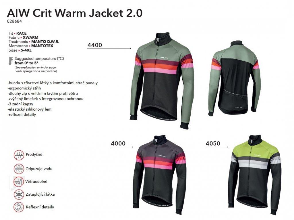 Bunda AIW Crit Warm Jacket 2.0 - Green