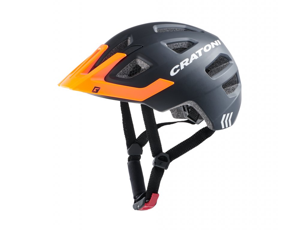 Cratoni Maxster Pro black-orange matt
