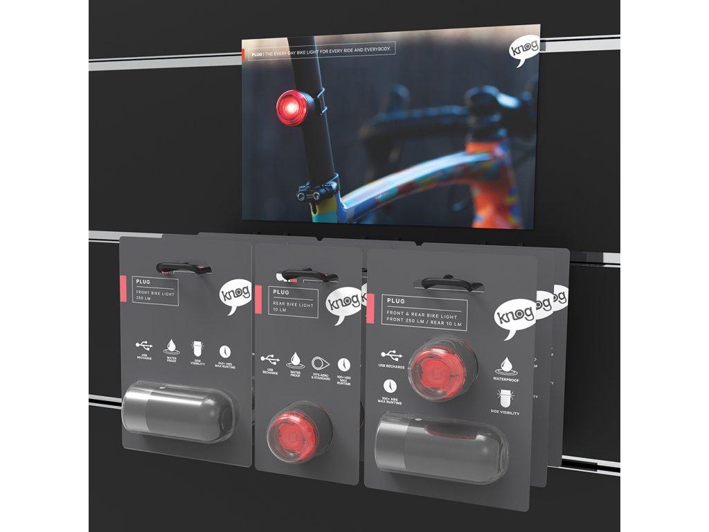 KNOG Výstavní panel PLUG 15 ks