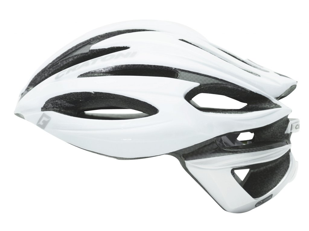 Cratoni C-Shot white-silver-glossy