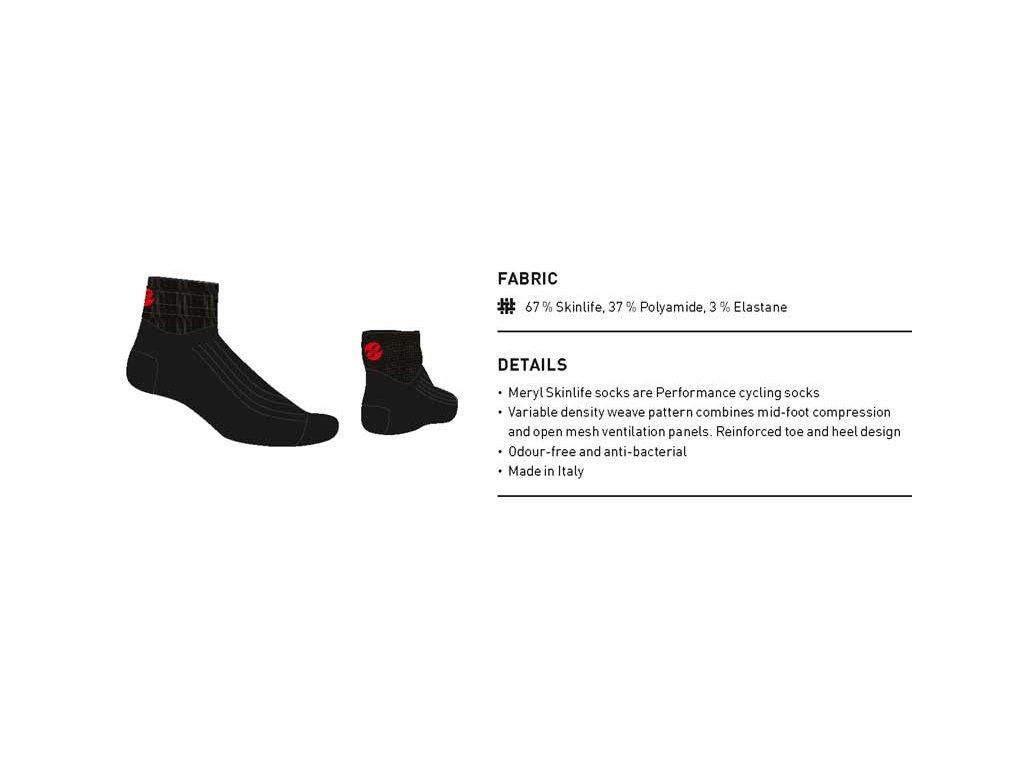 Ghost Ponožky - Black