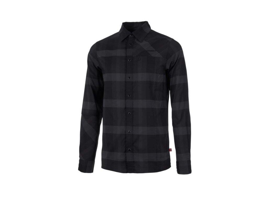 Ghost Košile lehká - Black / Grey