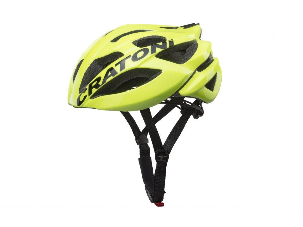 Cratoni C-BOLT - neon yellow-black glossy