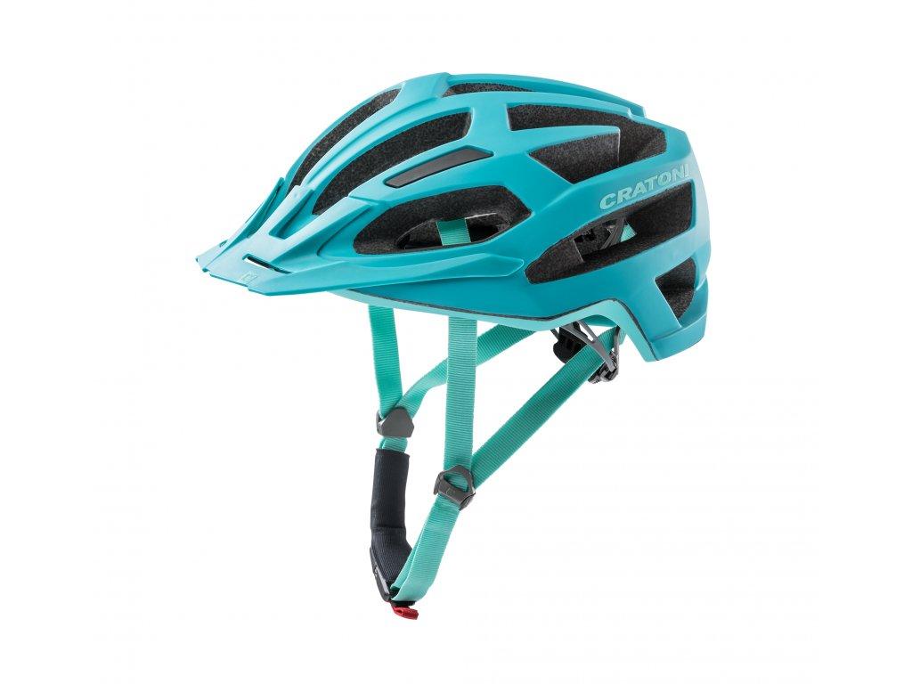 Cratoni C-FLASH - turquoise-blue matt