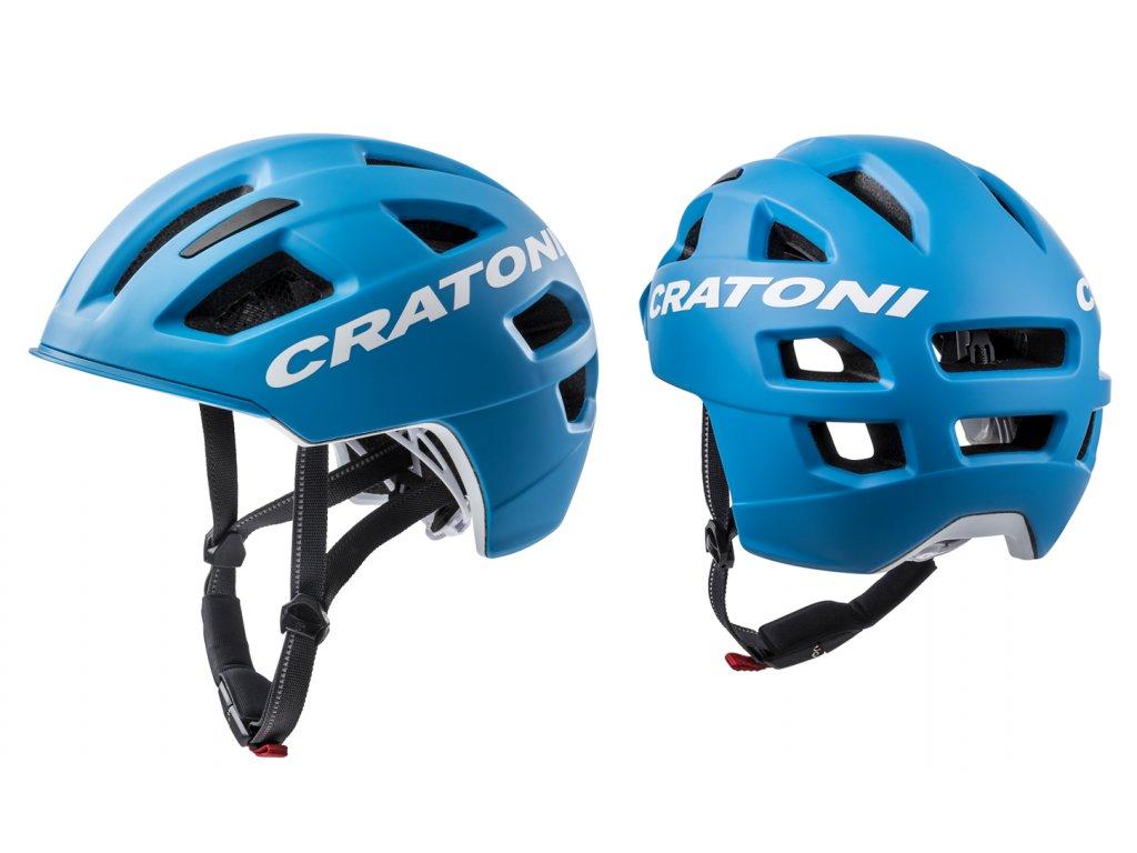 Cratoni C-PURE - blue matt