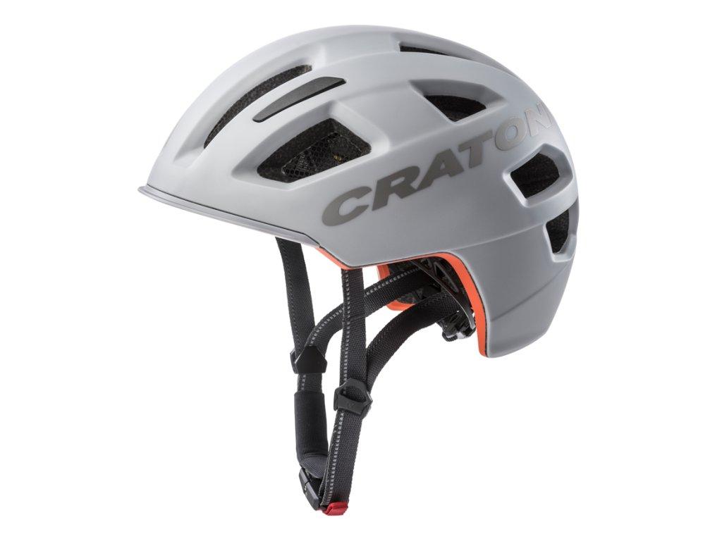 Cratoni C-PURE - grey matt