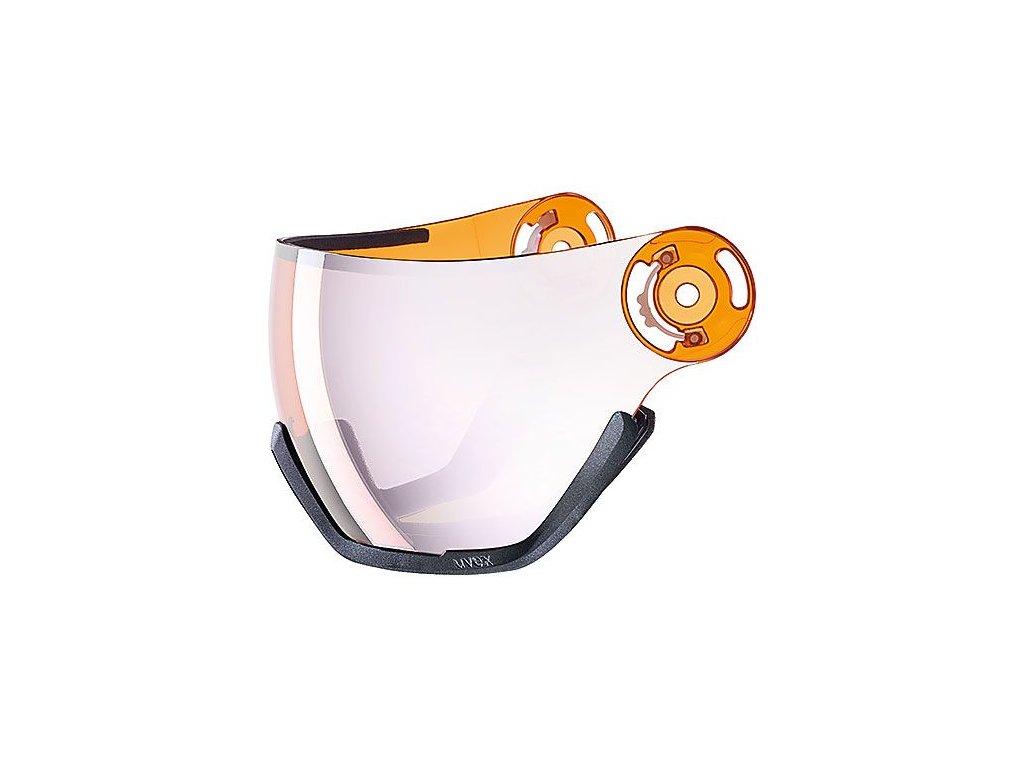 náhradní skla UVEX HLMT 400 VISOR ess lgl, ltm silver Množ. Uni