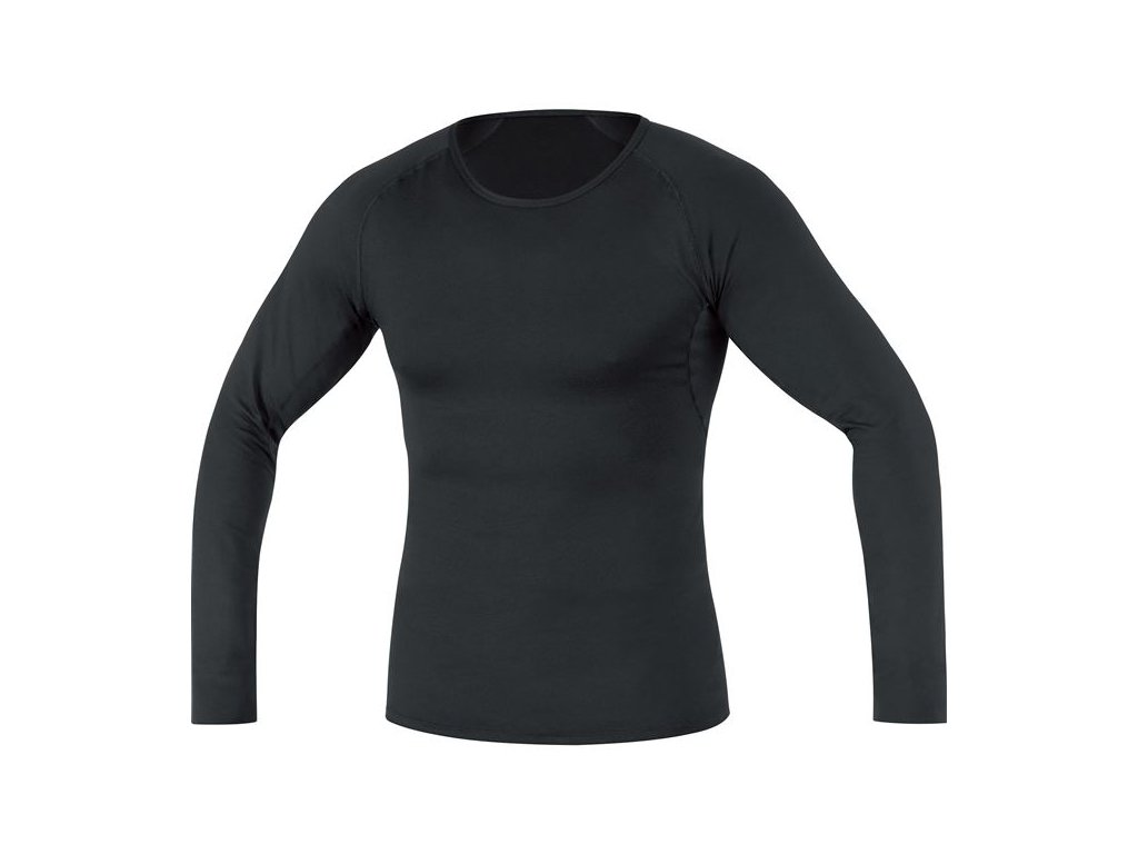 GORE M Base Layer Thermo Long Sleeve Shirt-black-M