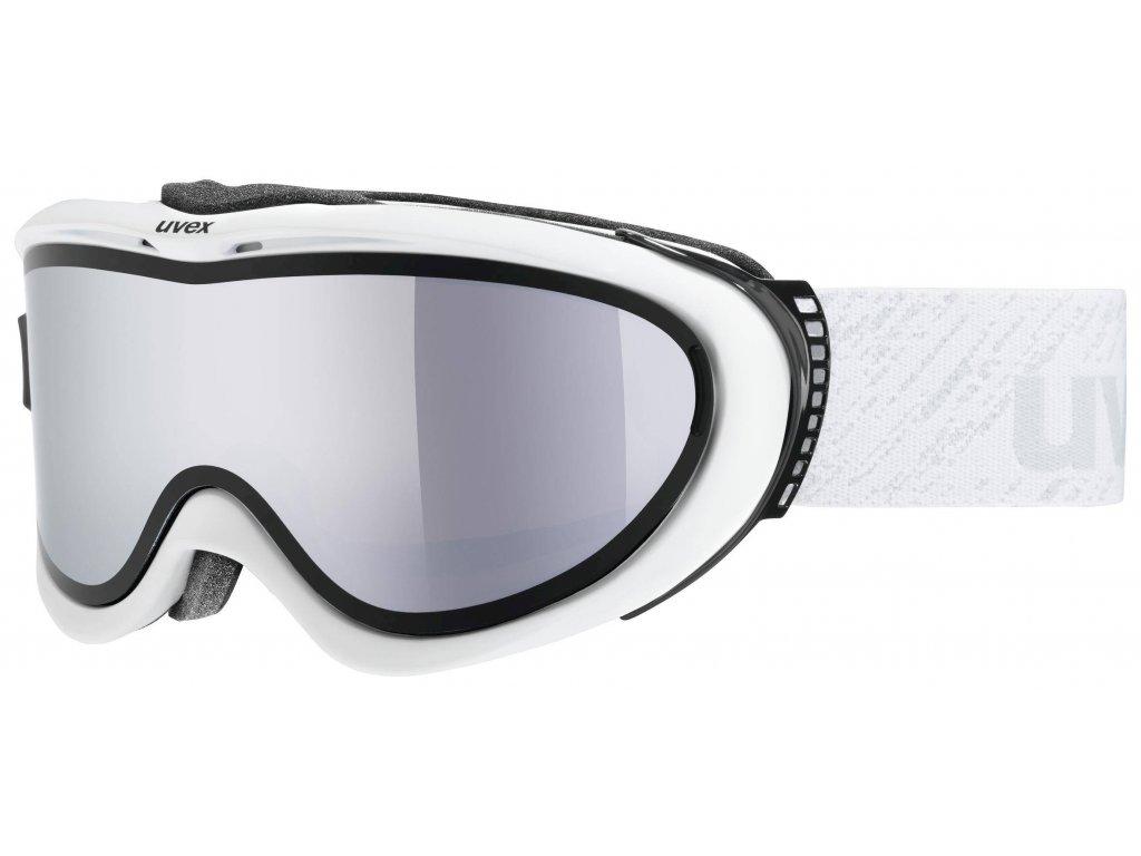 lyžařské brýle UVEX COMANCHE TO, white dl/lmirror silver (1426) Množ. Uni