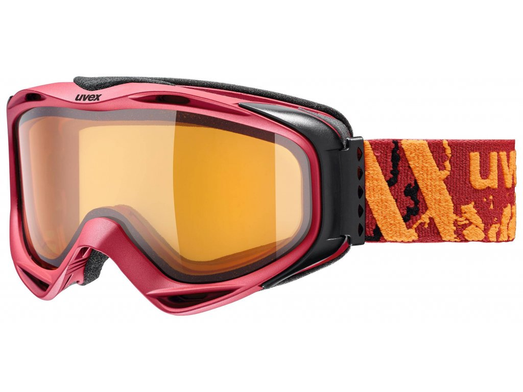 lyžařské brýle UVEX G.GL 300 LGL,darkred mat dl/lgl (3030) Množ. Uni