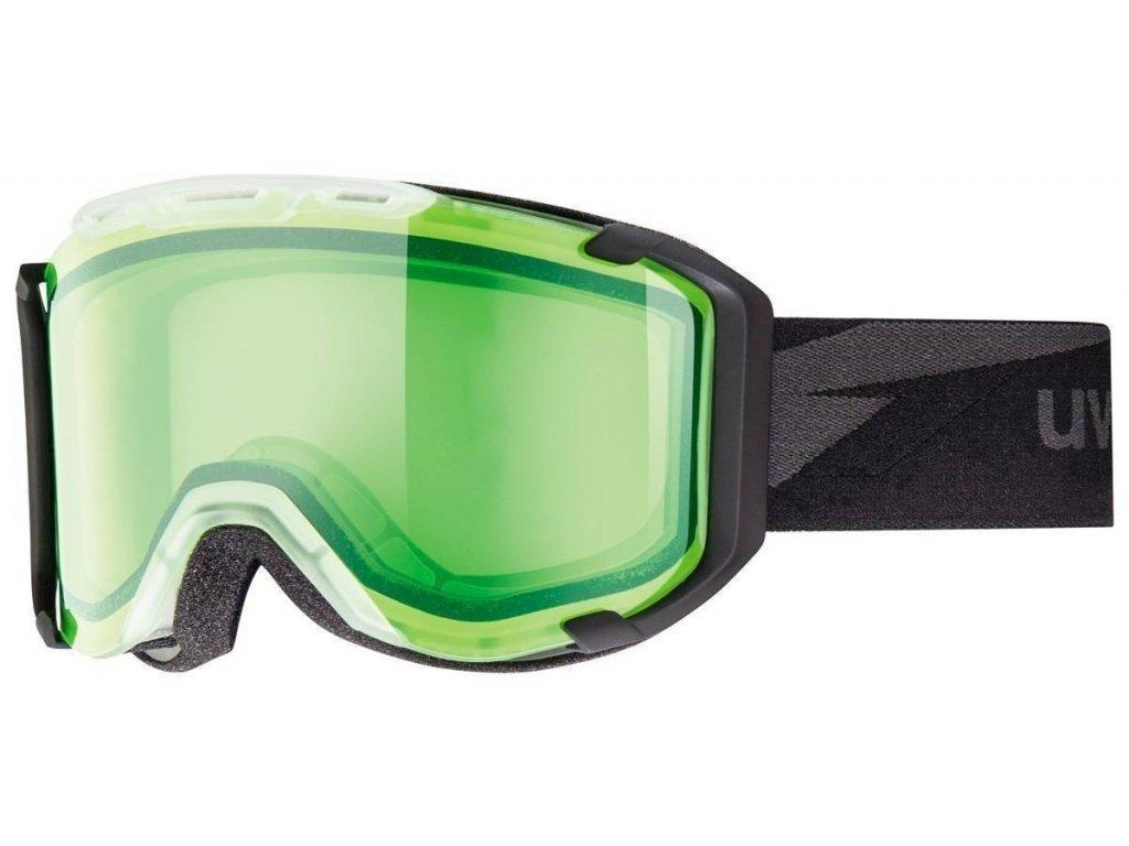 lyžařské brýle UVEX SNOWSTRIKE, translucent/alert (0222) Množ. Uni