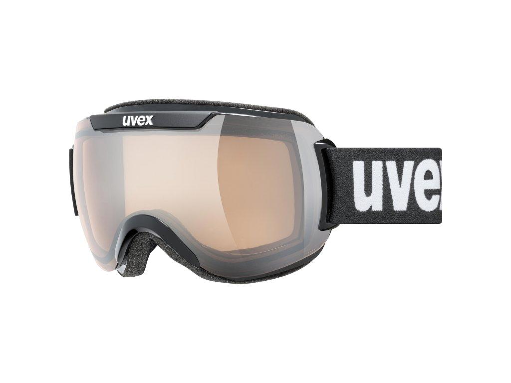lyžařské brýle UVEX DOWNHILL 2000 V, black dl/silver(2230) Množ. Uni