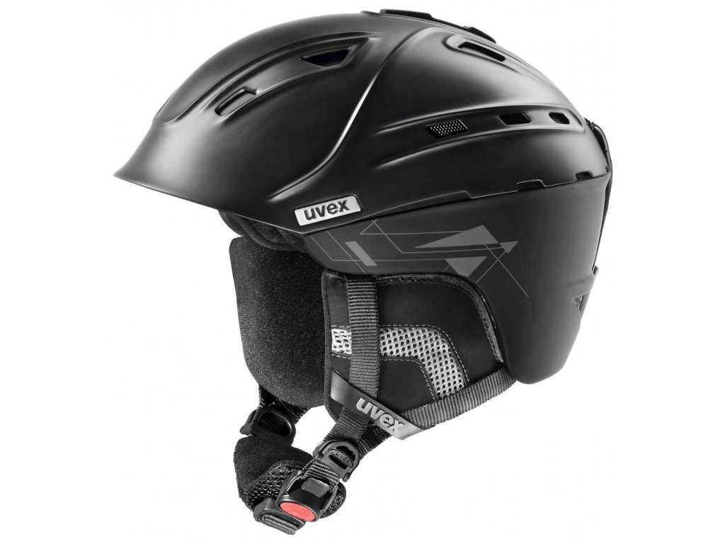 helma UVEX P2US, black mat (S566178200*) 51-55