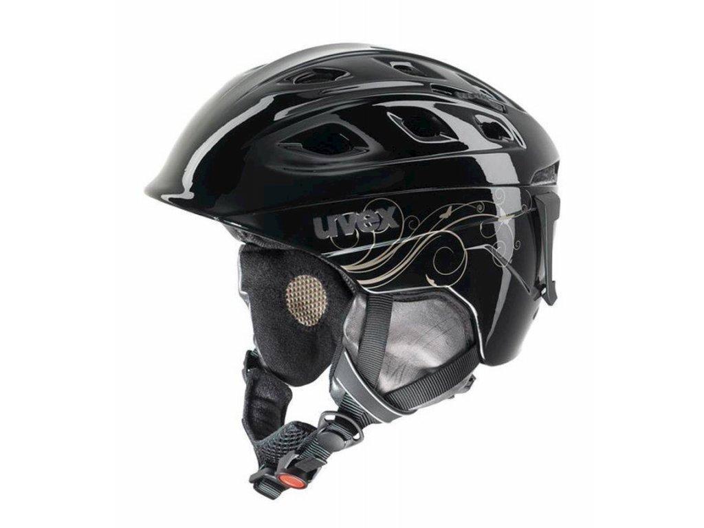 helma UVEX FUNRIDE 2 LADY, black/gold (S566150260*) XXXS-