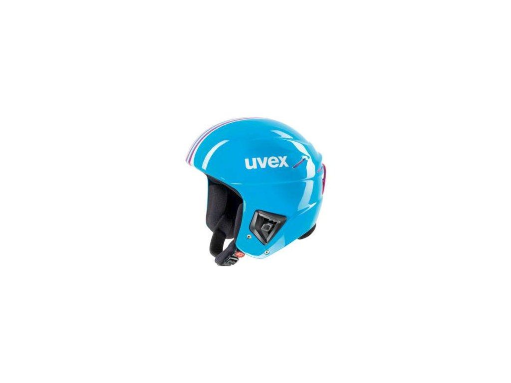 helma UVEX HLMT 5 RACE, all cyan (S566149410*) 52-55