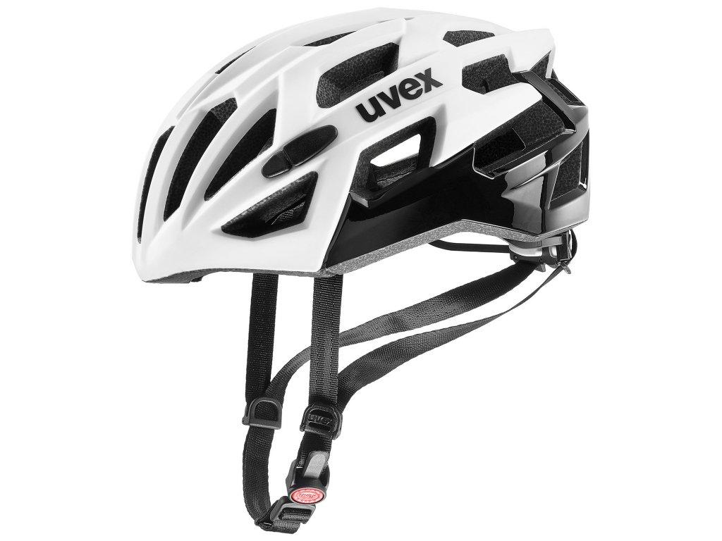 2021 UVEX HELMA RACE 7, WHITE BLACK 51-55