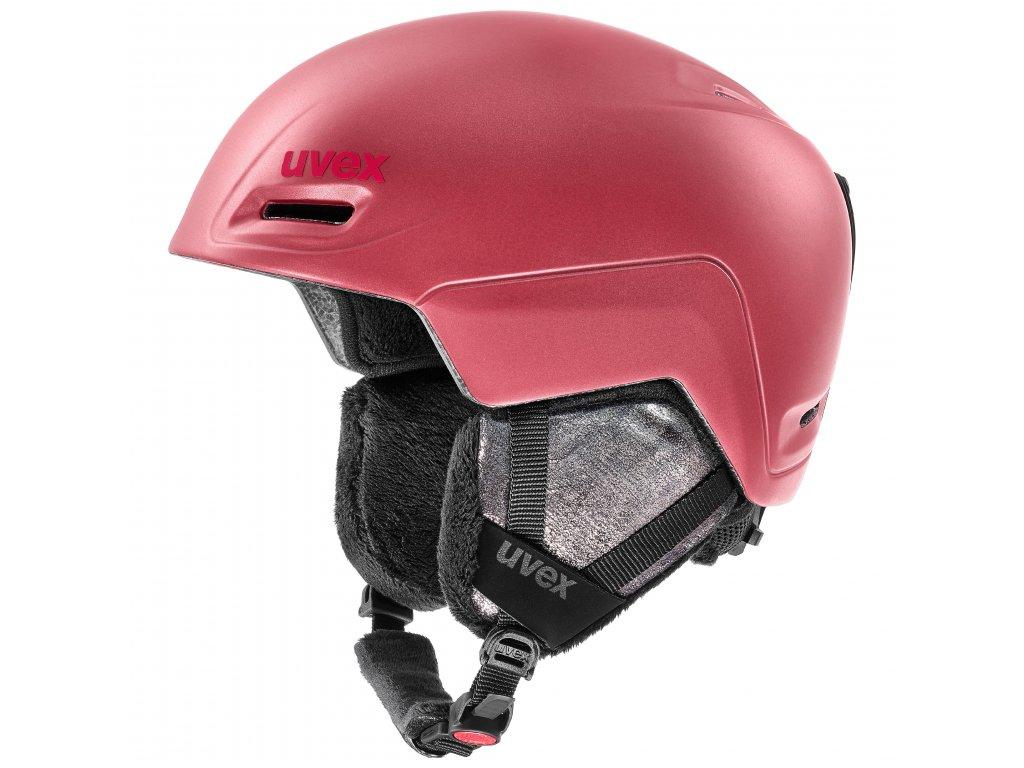 helma UVEX JIMM, fuchsia mat (S566206910*) 55-59