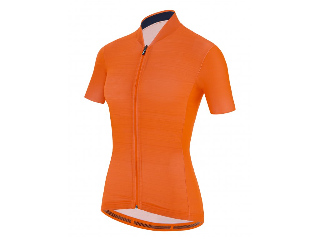 Santini COLORE JERSEY / DRES - AF - Flashy Orange