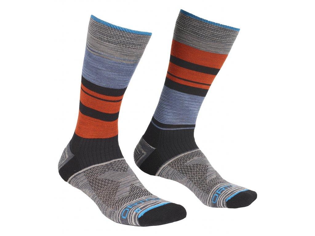 Ponožky Ortovox All Mountain Mid Socks