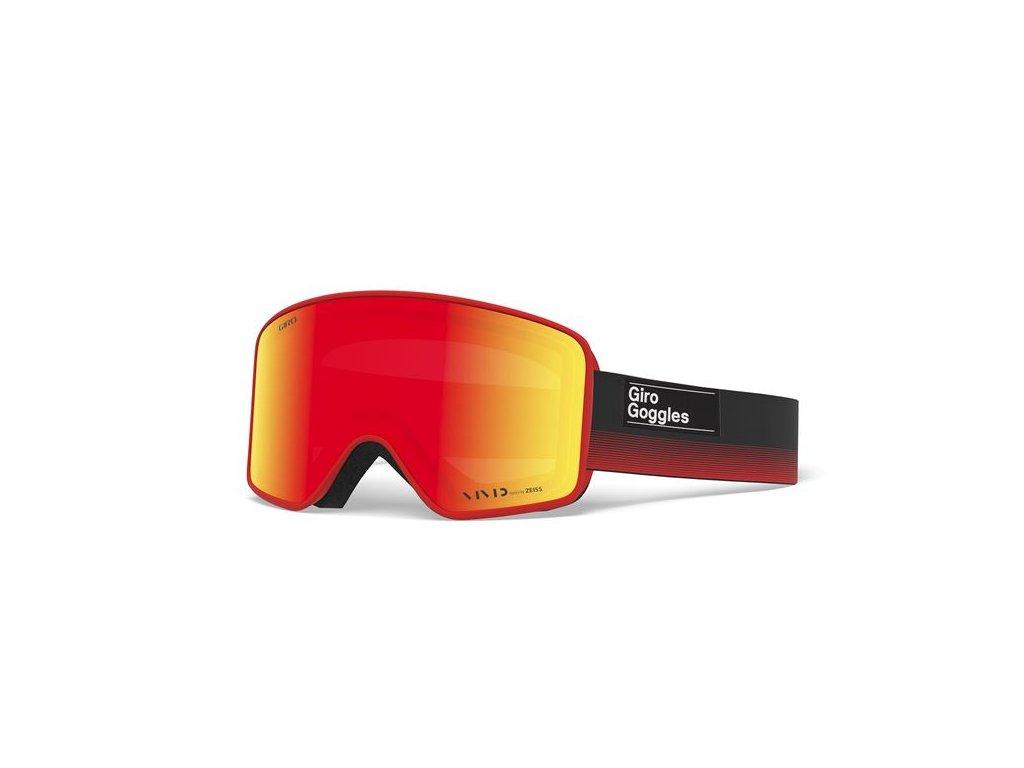 GIRO Method Black Red Label Vivid Ember/Vivid Infrared (2skla)