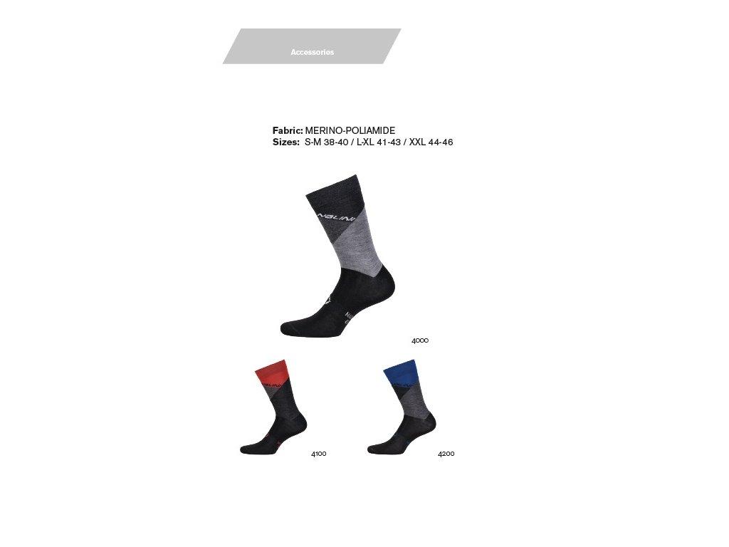 Ponožky AHW Crit Socks - Grey