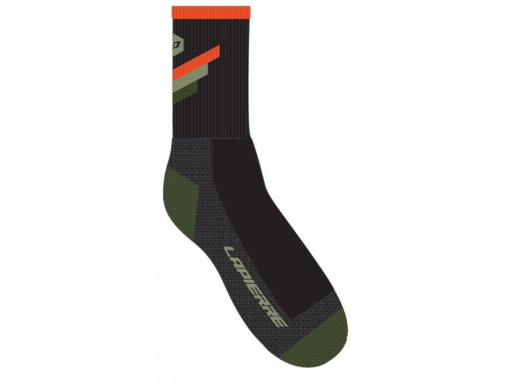Lapierre Men's Orange Army Road Socks