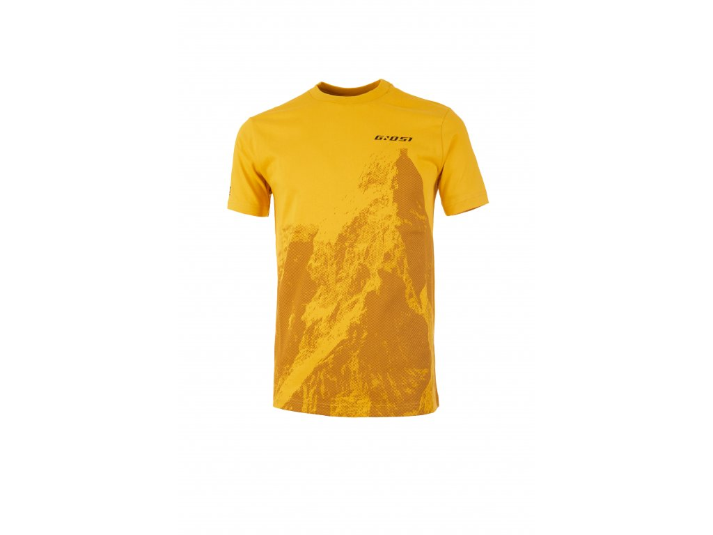 Ghost Série MTN Casual Line ➜ Tričko Peak - Yellow / Yellow