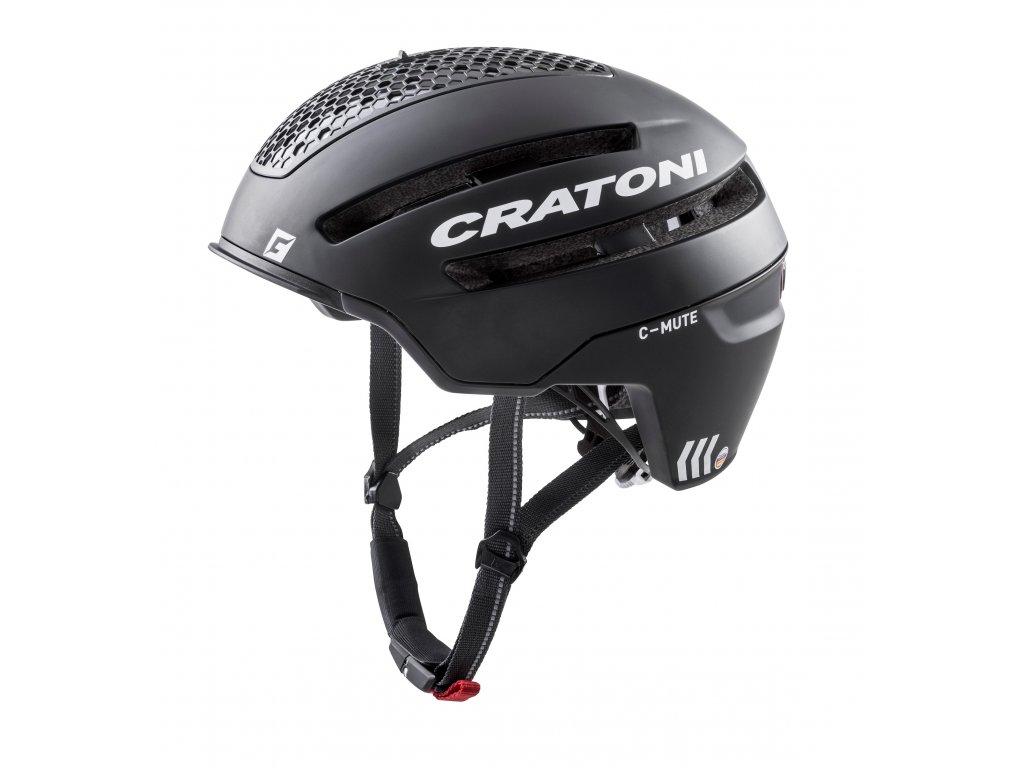 Cratoni C-MUTE - Black Matt