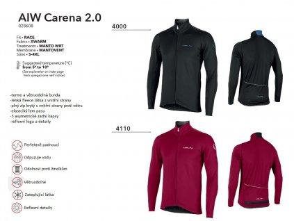 Bunda AIW Carena 2.0 - Red