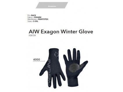 Rukavice AIW Exagon Winter Gloves