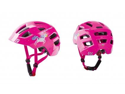 Cratoni Maxster unicorn pink glossy